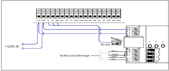 IP_Link_VC 485 wiring kantech wiring diagram at bakdesigns.co