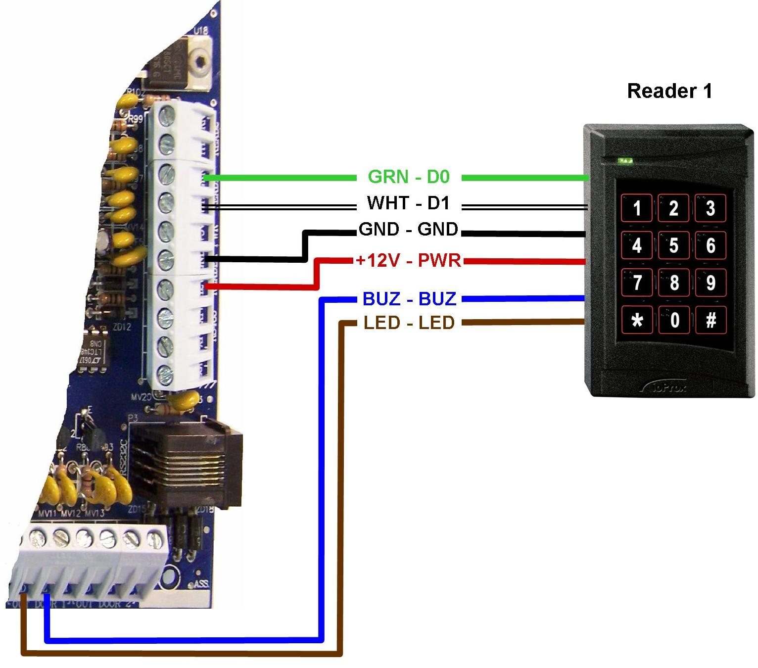Readers Kantech Kt Wiring Diagram on